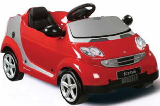 Smart fourtwo pedal car
